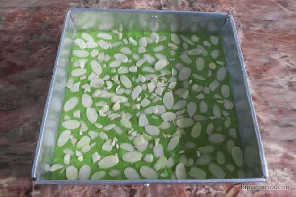 resep brownies green tea panggang