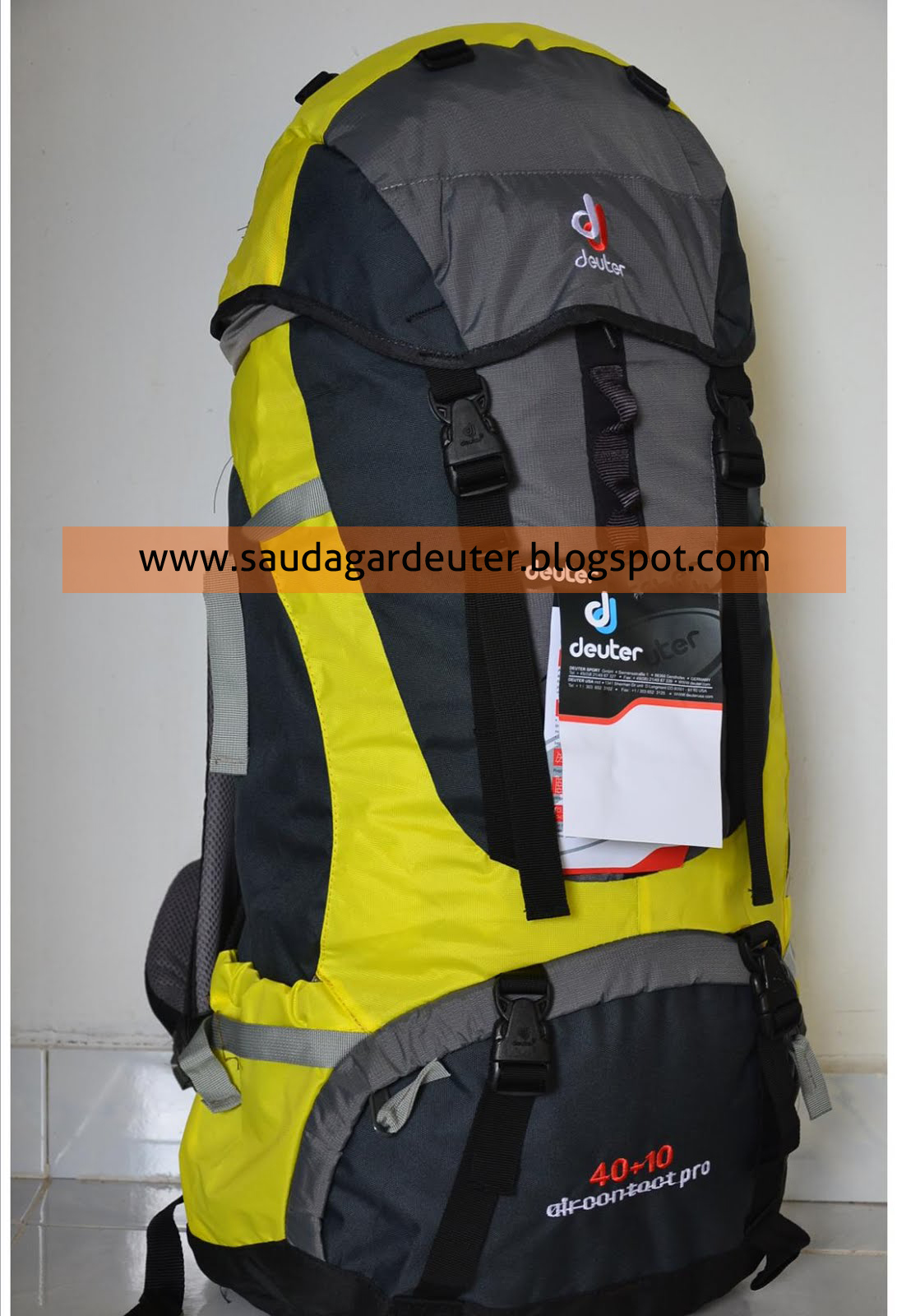 deuter 40l 10l aircontact saudagar deuter. Black Bedroom Furniture Sets. Home Design Ideas