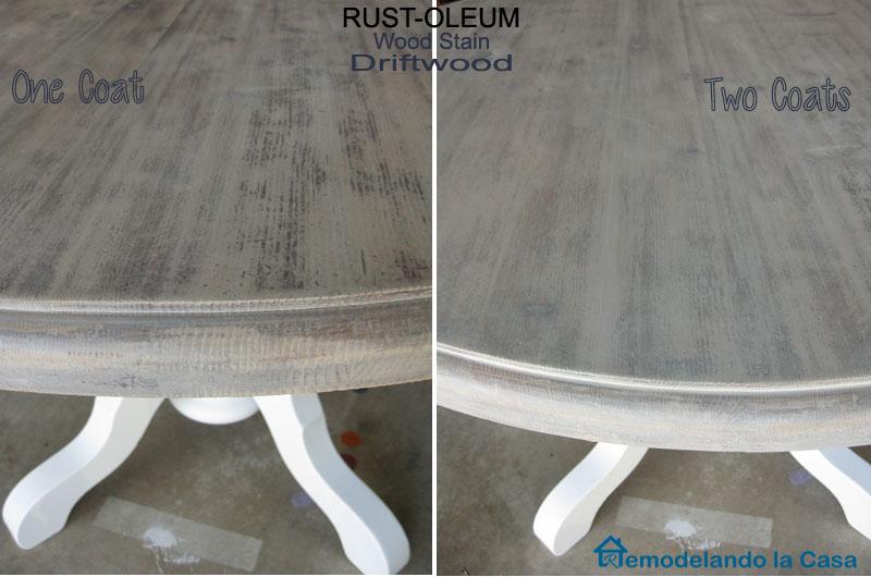 Kitchen Table and Chairs Makeover - Remodelando la Casa