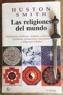 Portada del libro Las religiones del mundo, de Huston Smith