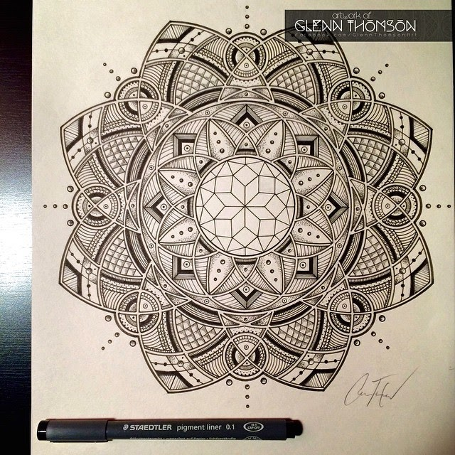 10-Language-Glenn-Thomson-Black-and-White-Innovative-Mandala-Designs-www-designstack-co