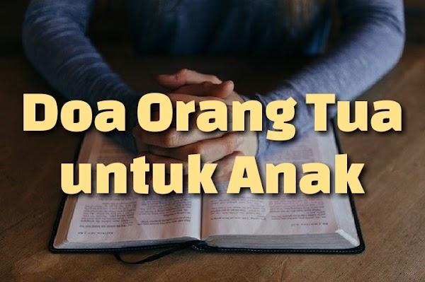 Contoh Doa Permohonan Orang Tua untuk Anak Secara Katolik