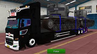 Mod Hino Tronton Muat tank