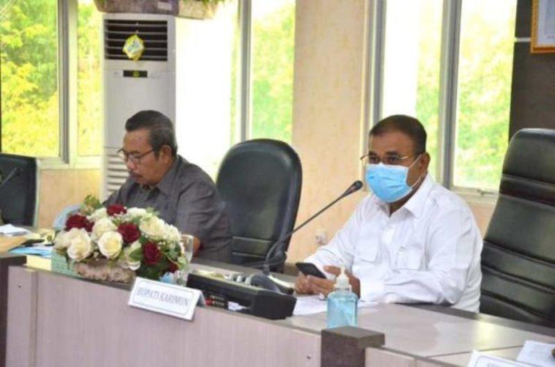 Pimpin Rapat Gugus Tugas Covid-19, Aunur Rafiq Tegaskan Pemkab Tanggung Semua Biaya Pasien Virus Corona