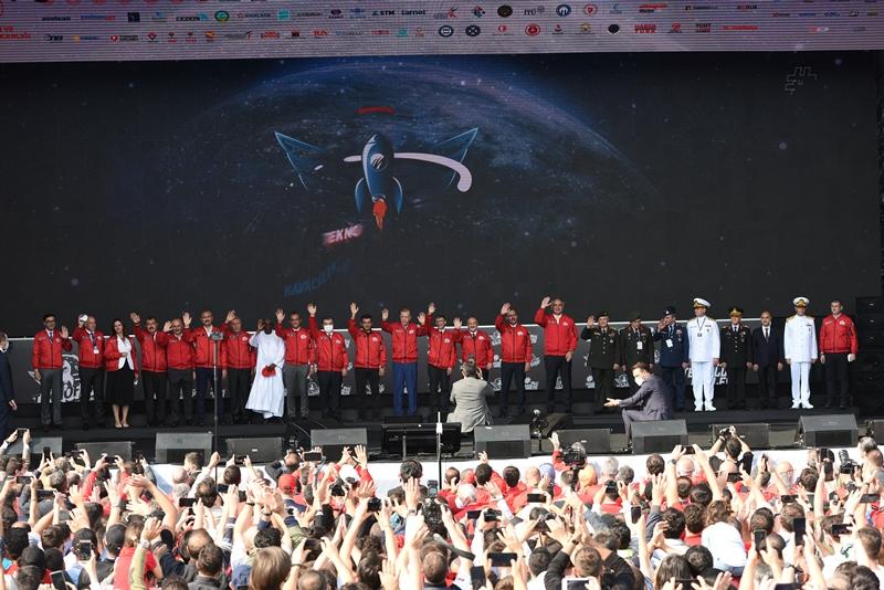 """Cumhurbaşkanı Erdoğan; """"TEKNOFEST Sahip Olduğumuz Küresel Potansiyelin İspatıdır"""""""