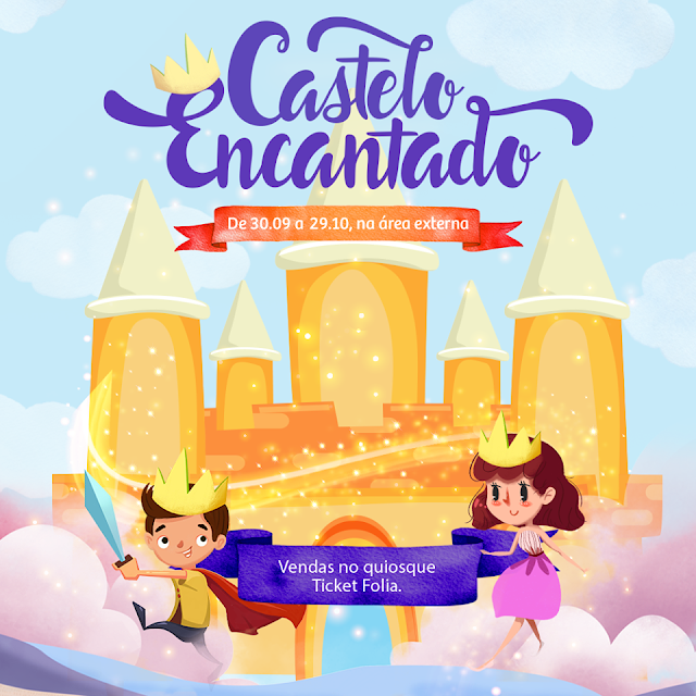 Castelo Encantado no Shopping Guararapes