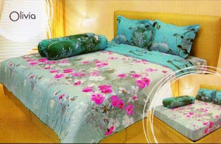 Sprei internal motif olivia