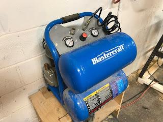 My trusty air compressor