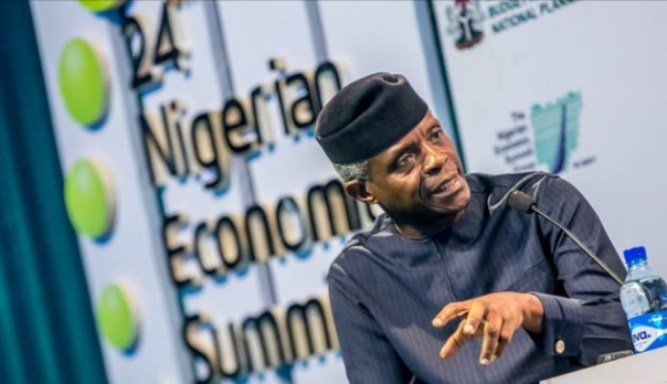 Image result for Osinbajo: We are working to reduce our population growth by 50% through educating women