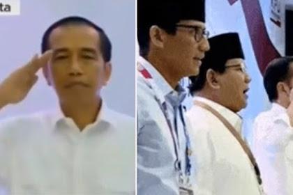 Sikap Hormat Jokowi Saat Lagu Indonesia Raya Disorot, Begini Aturan Menurut Undang-Undang