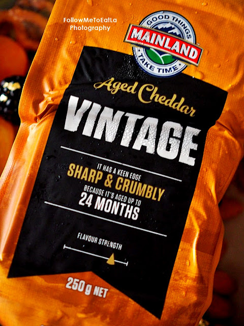 Vintage, for instance, is premium cheddar aged up to 24 months