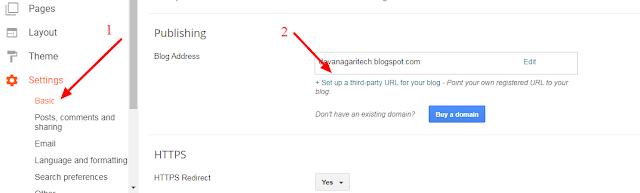 Blogger Me Custom Domain Kaise Add Kare [With Photo]