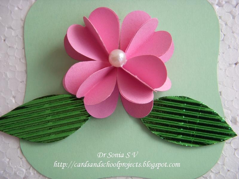 Diy 3d felt flower how to make a 3d flower out of construction paper ideal vistalist co mightylinksfo