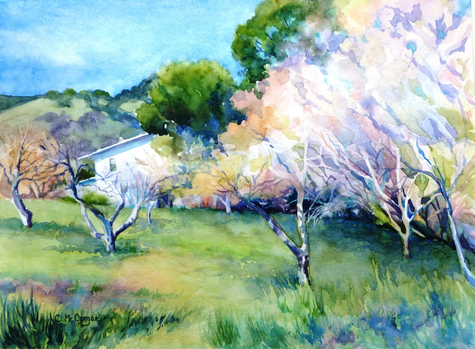 Catherine McCargar Watercolor Painter