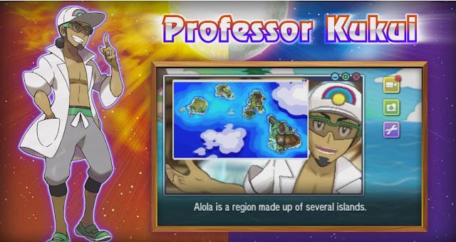 Professor Kukui - Região alola