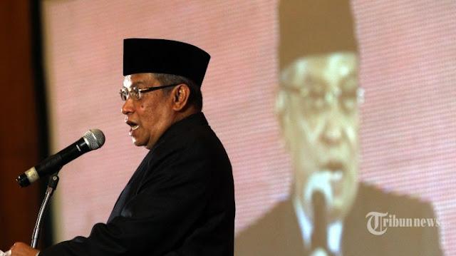 Ketum PBNU Said Aqil: Kita Wajib Hormati Habib Rizieq