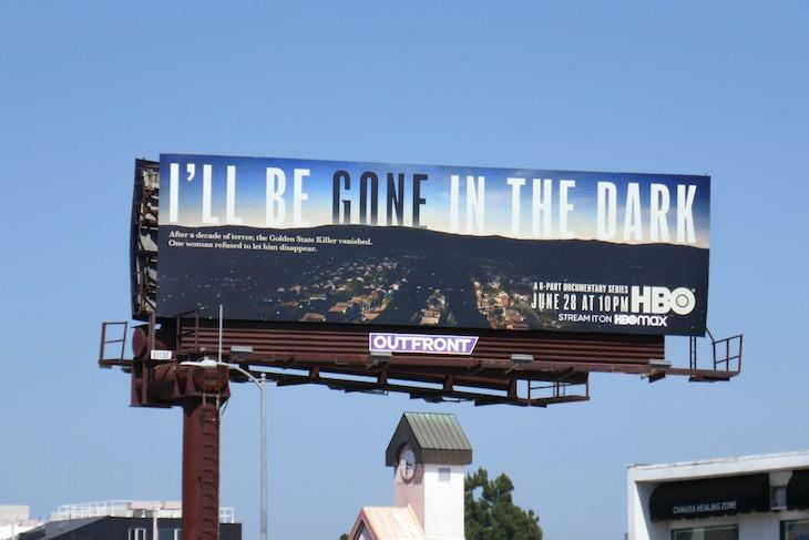Ill Be Gone In The Dark billboard