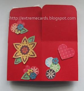 card in a box flattened