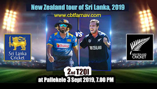 SL vs NZ 2nd T20 Cricket Match Prediction Today