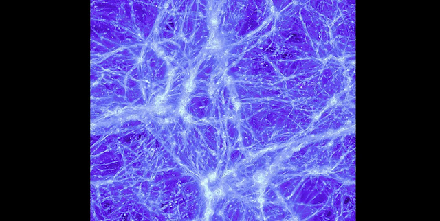 Through complex computer simulations, researchers have reproduced the so-called Cosmic Web and its magnetic fields. Credit: Vazza F., Bruggen M. Gheller, C., Wang P.