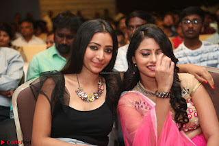 Geethanjali and Swetha Basu at Mixture Potlam Movie Audio Launch Feb 2017 010.JPG