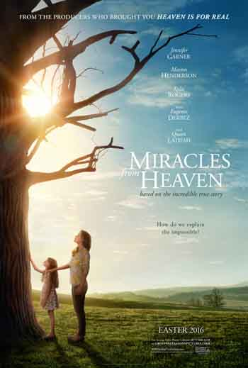 Miracles from Heaven 2016 480p 300MB BRRip [Hindi - English] MKV
