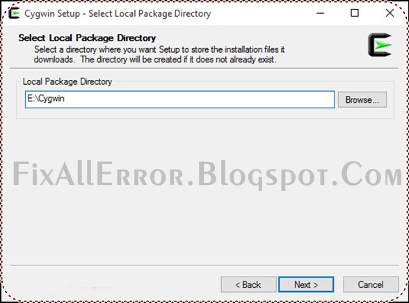 Fix Your Errors: How to Create Offline Installer for Cygwin Latest Tricks 2018