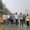 Wabup Kerinci Bersama pejabar Pemkot Sungai Penuh Tinjau Jalan Puncak kearah Depati Tujuh