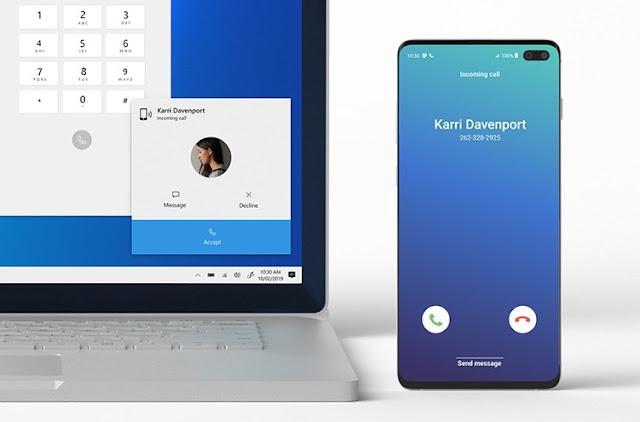 يمكنك الآن الرد على مكالمات هاتفك المحمول من جهاز الكمبيوتر الذي يعمل بنظام  الويندوز