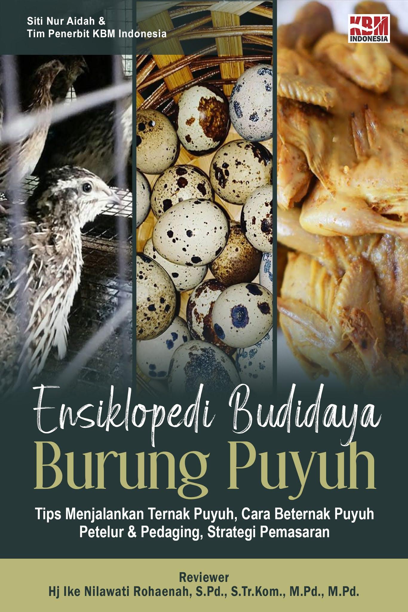 ENSIKLOPEDI BUDIDAYA BURUNG PUYUH