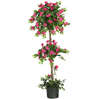 5' MINI BOUGAINVILLEA TOPIARY SILK TREE #5228