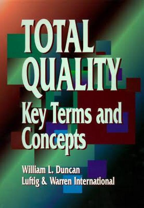 Total Quality: Key Terms and Concepts