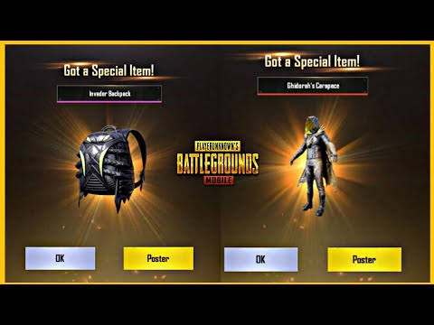 How To Get A Legendary Item In PUBG Mobile For Free