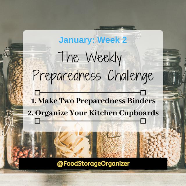Preparedness Challenge: January Week 2