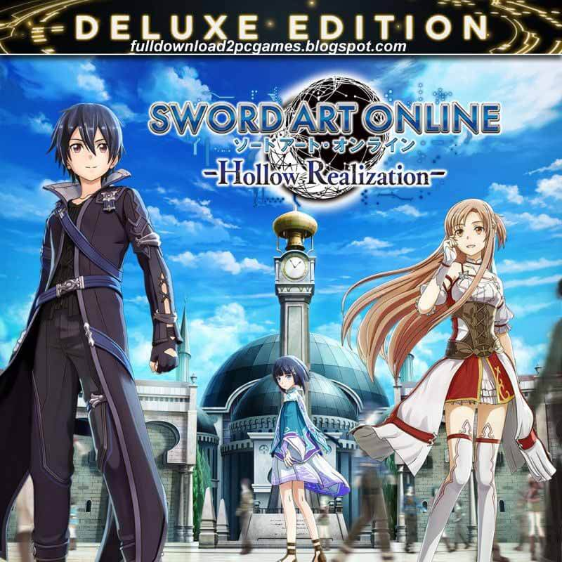 Sword Art Online Hollow Realization Deluxe Edition Free Download PC Game