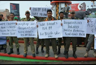 Satpol PP Bandarlampung Nyatakan Sikap Lawan Berita Bohong