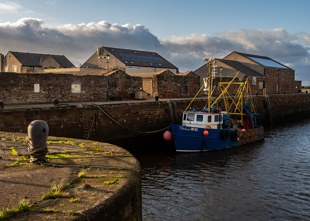 Photo of fishing boat Chelaris in Maryport harbour