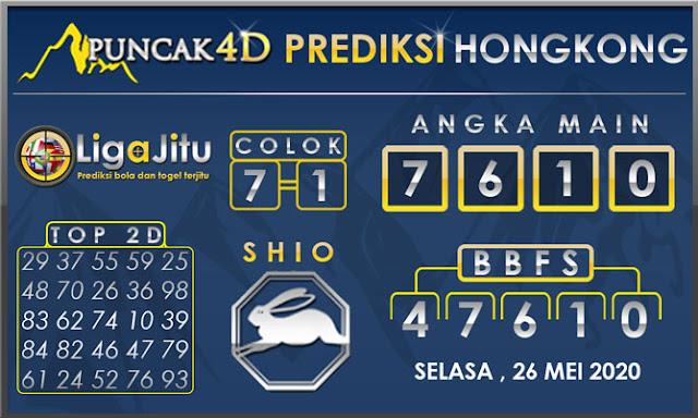 PREDIKSI TOGEL HONGKONG PUNCAK4D 26 MEI 2020