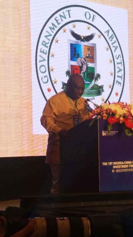 Ikpeazu takes promotion of made-in-Aba products to China