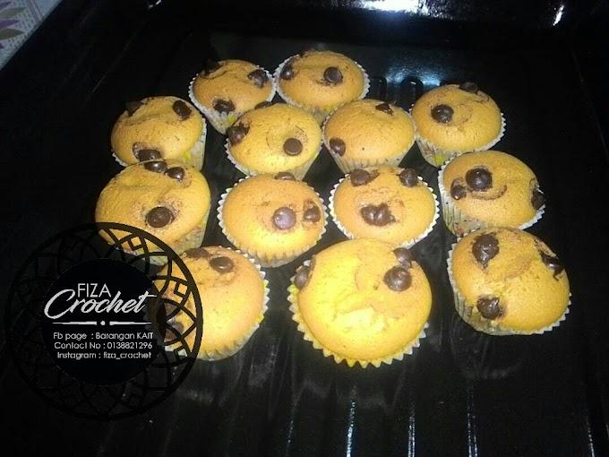 Mini cupcake sukatan cawan
