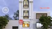 Thiết kế nhà phố 50m2 đẹp 4 tầng 1 tum phong cách hiện đại - Mã số NP1342 - Ảnh 3