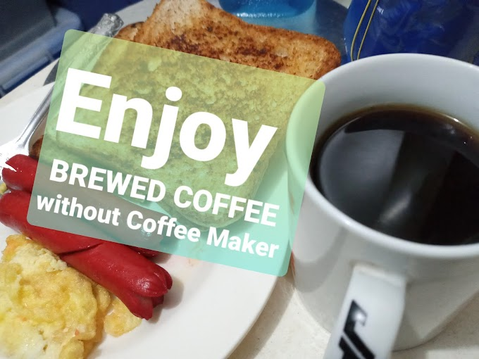 How to brew coffee without coffee maker