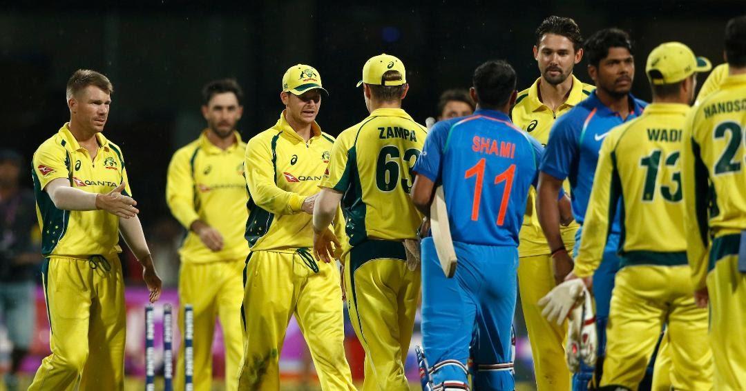 India vs Australia 4th ODI 2017 Highlights