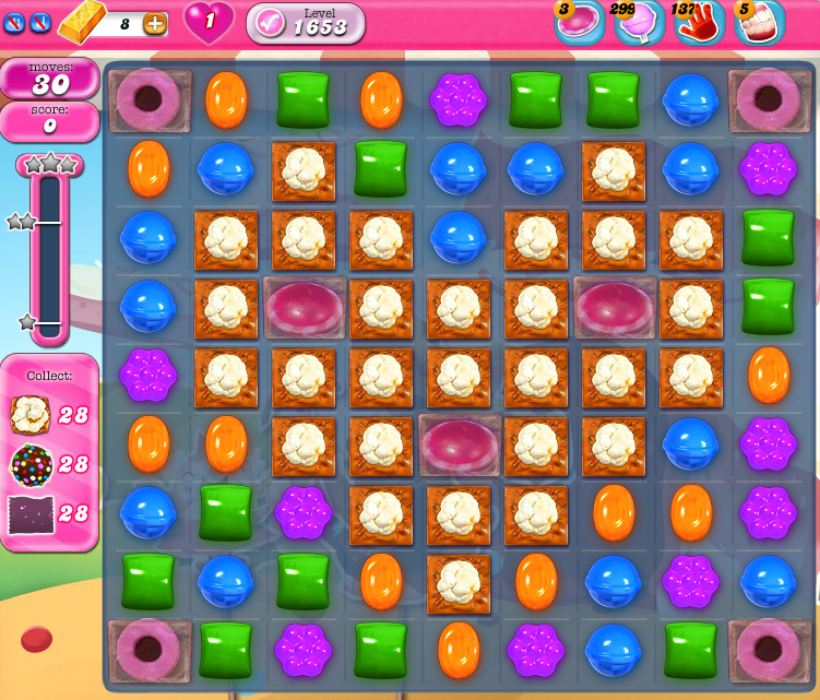 Candy Crush Saga 1653