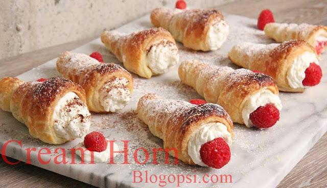 Viral : Resepi Cream Horn Pastry