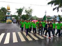 Pemuda Ansor Kabupaten Barru Ikut Meriahkan HAB Kemenag Ke 71