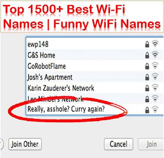 wifi names networks