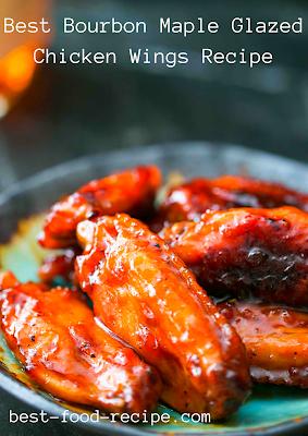 Best Bourbon Maple Glazed Chicken Wings Recipe
