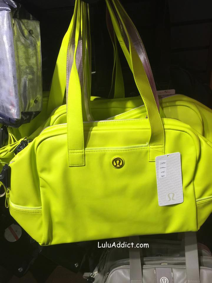 lululemon split pea urban sanctuary bag