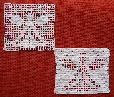 Filet Crochet Angel - Angelo a Filet
